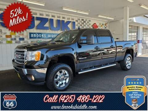 2014 GMC Sierra 2500HD for sale at BROOKS BIDDLE AUTOMOTIVE in Bothell WA