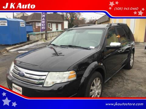 2008 Ford Taurus X for sale at Webster Auto Sales in Webster MA
