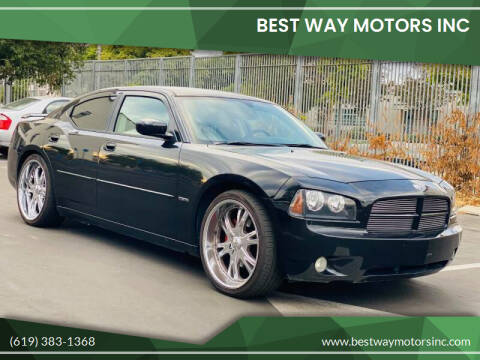 2006 Dodge Charger for sale at BEST WAY MOTORS INC in San Diego CA