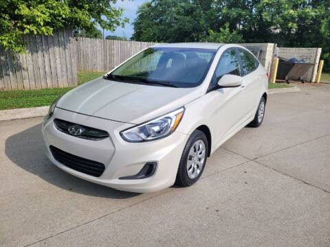 2016 Hyundai Accent for sale at Harold Cummings Auto Sales in Henderson KY