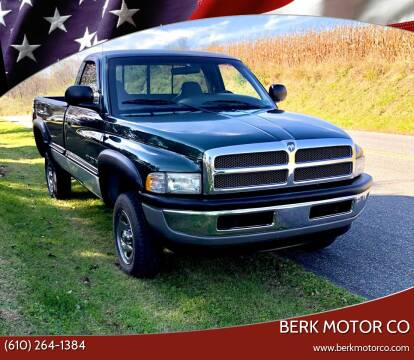 1999 Dodge Ram Pickup 1500 for sale at Berk Motor Co in Whitehall PA