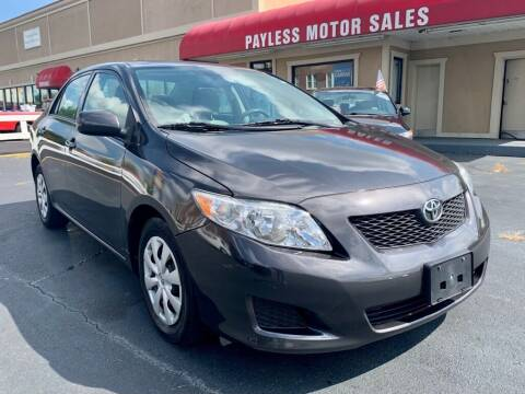2010 Toyota Corolla for sale at Payless Motor Sales LLC in Burlington NC