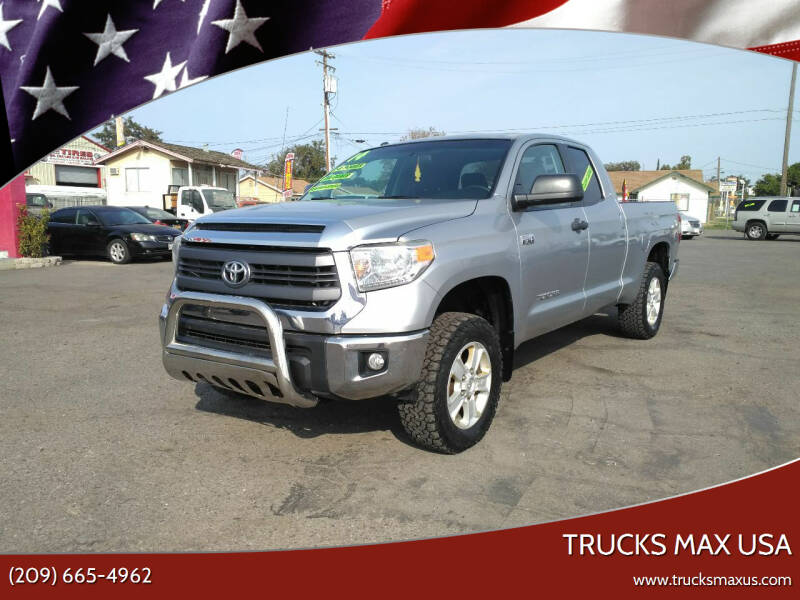 2014 Toyota Tundra for sale at Trucks Max USA in Manteca CA
