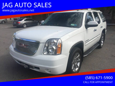2008 GMC Yukon for sale at JAG AUTO SALES in Webster NY