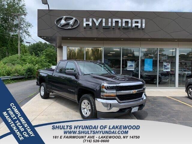 2016 Chevrolet Silverado 1500 for sale at Shults Hyundai in Lakewood NY
