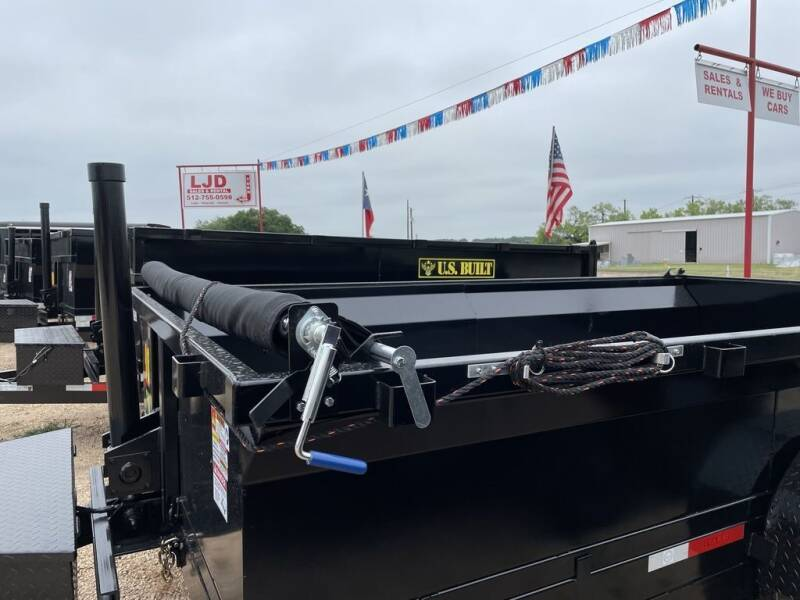 2021 US BUILT  - 7 X 14 X 2 - RAMPS - TARP for sale at LJD Sales in Lampasas TX