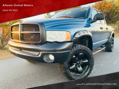 2003 Dodge Ram Pickup 1500 for sale at Atlanta United Motors in Buford GA