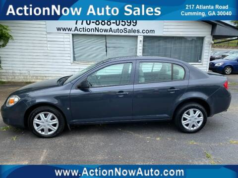 2008 Chevrolet Cobalt for sale at ACTION NOW AUTO SALES in Cumming GA
