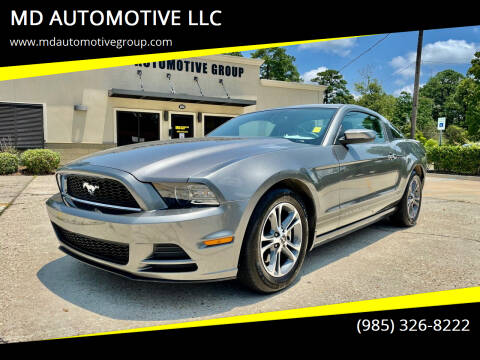 2014 Ford Mustang for sale at MD AUTOMOTIVE LLC in Slidell LA