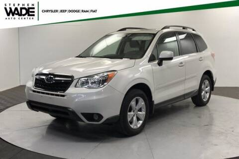 2016 Subaru Forester for sale at Stephen Wade Pre-Owned Supercenter in Saint George UT