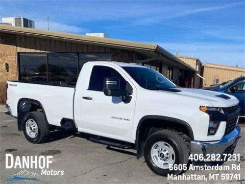 2020 Chevrolet Silverado 2500HD for sale at Danhof Motors in Manhattan MT