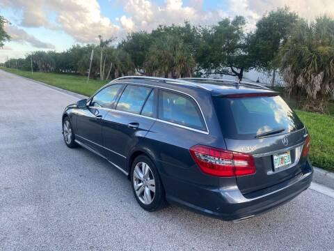 2011 Mercedes-Benz E-Class for sale at EUROPEAN AUTO ALLIANCE LLC in Coral Springs FL