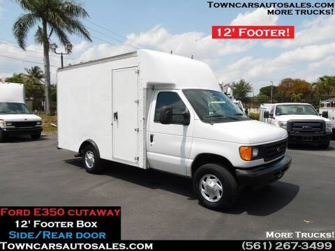 2004 Ford E-350 for sale at Town Cars Auto Sales in West Palm Beach FL