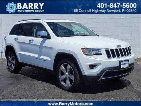 2015 Jeep Grand Cherokee for sale at BARRYS Auto Group Inc in Newport RI