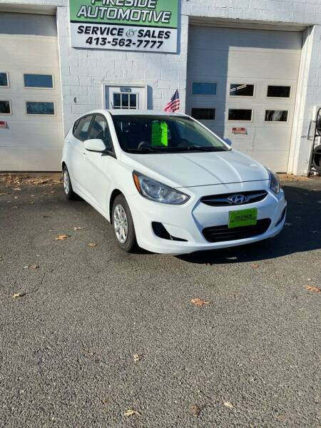 2012 Hyundai Accent for sale at Pikeside Automotive in Westfield MA