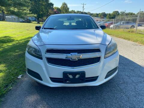2013 Chevrolet Malibu for sale at Speed Auto Mall in Greensboro NC