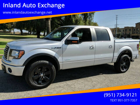 2011 Ford F-150 for sale at Inland Auto Exchange in Norco CA