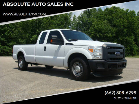 2015 Ford F-250 Super Duty for sale at ABSOLUTE AUTO SALES INC in Corinth MS