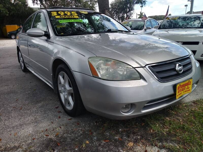 2002 Nissan Altima for sale at AFFORDABLE AUTO SALES OF STUART in Stuart FL