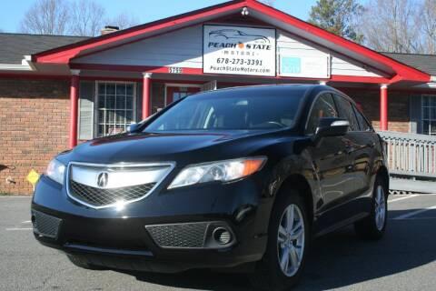 2013 Acura RDX for sale at Peach State Motors Inc in Acworth GA