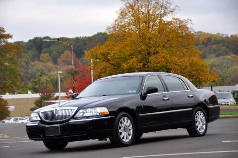 2010 Lincoln Town Car for sale at T CAR CARE INC in Philadelphia PA