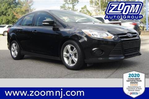 2014 Ford Focus for sale at Zoom Auto Group in Parsippany NJ