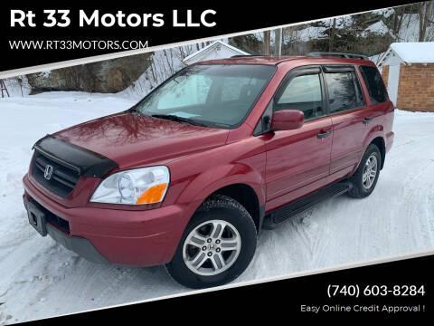 2003 Honda Pilot for sale at Rt 33 Motors LLC in Rockbridge OH