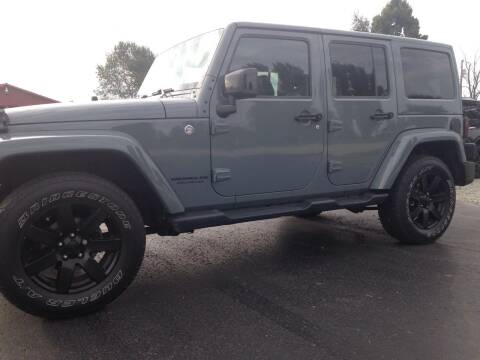 2014 Jeep Wrangler Unlimited for sale at EAGLE ONE AUTO SALES in Leesburg OH