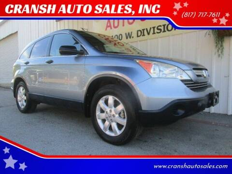 2007 Honda CR-V for sale at CRANSH AUTO SALES, INC in Arlington TX