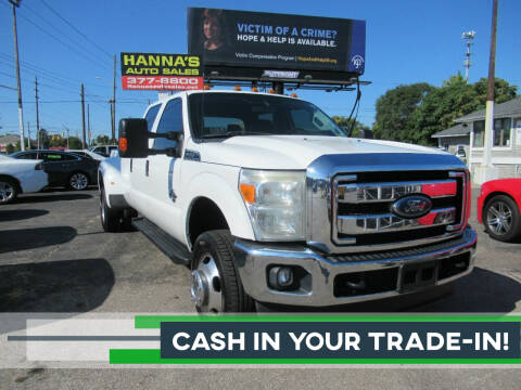 2015 Ford F-350 Super Duty for sale at Hanna's Auto Sales in Indianapolis IN