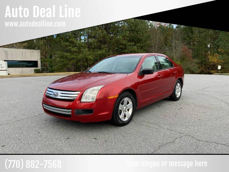 2007 Ford Fusion for sale at Auto Deal Line in Alpharetta GA