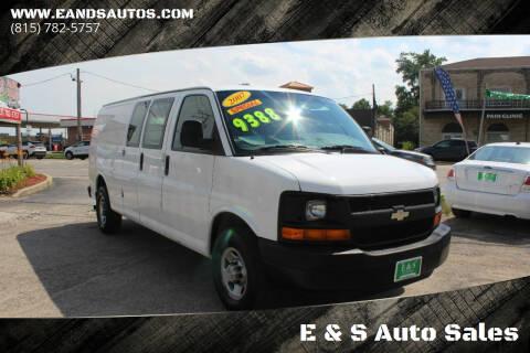 2007 Chevrolet Express Cargo for sale at E & S Auto Sales in Crest Hill IL