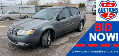 2005 Saturn Ion for sale at One Community Auto LLC in Albuquerque NM