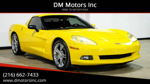 2007 Chevrolet Corvette for sale at DM Motors Inc in Maple Heights OH