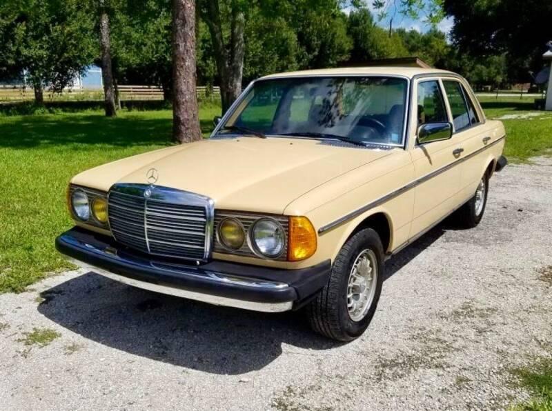 1981 Mercedes-Benz 300-Class for sale at Essex Motorsport, LLC in Essex Junction VT