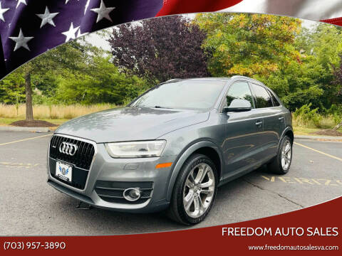 2015 Audi Q3 for sale at Freedom Auto Sales in Chantilly VA