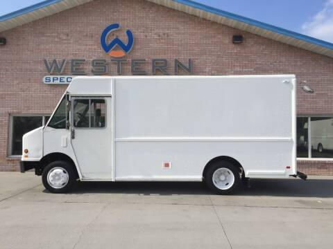 1996 Freightliner P700 Fedex Truck for sale at Western Specialty Vehicle Sales in Braidwood IL