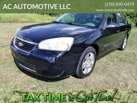2006 Chevrolet Malibu for sale at AC AUTOMOTIVE LLC in Hopkinsville KY