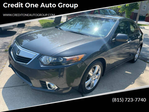 2012 Acura TSX for sale at Credit One Auto Group in Joliet IL