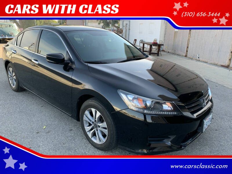 2015 Honda Accord for sale at CARS WITH CLASS in Santa Monica CA