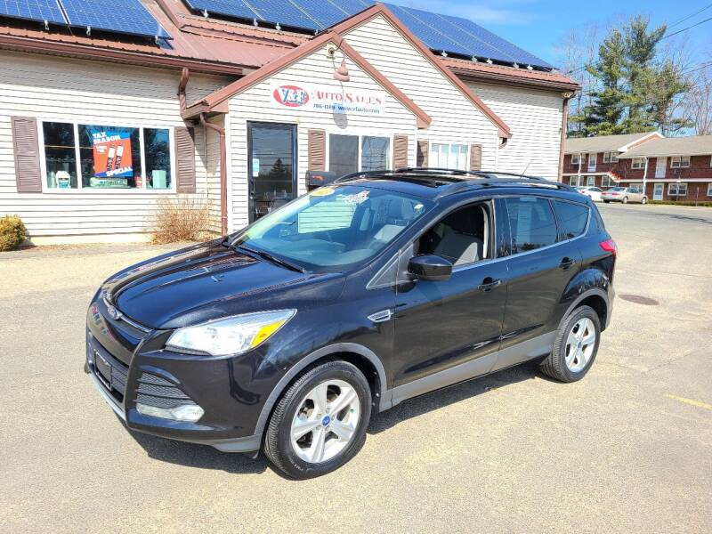 2013 Ford Escape for sale at V & F Auto Sales in Agawam MA