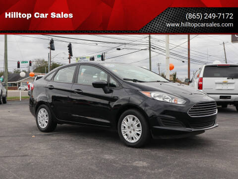 2017 Ford Fiesta for sale at Hilltop Car Sales in Knox TN