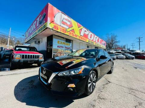 2019 Nissan Altima for sale at EXPORT AUTO SALES, INC. in Nashville TN