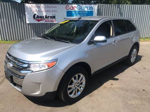 2013 Ford Edge for sale at Chuckran Auto Parts Inc in Bridgewater MA