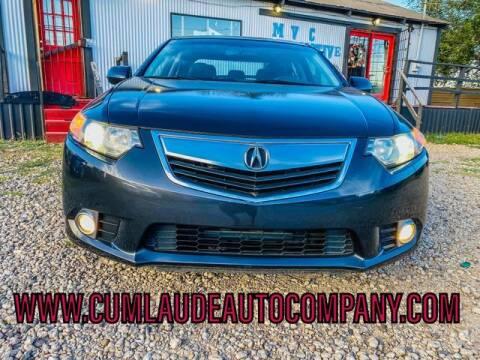 2013 Acura TSX for sale at MAGNA CUM LAUDE AUTO COMPANY in Lubbock TX