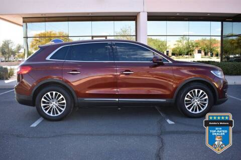 2016 Lincoln MKX for sale at GOLDIES MOTORS in Phoenix AZ