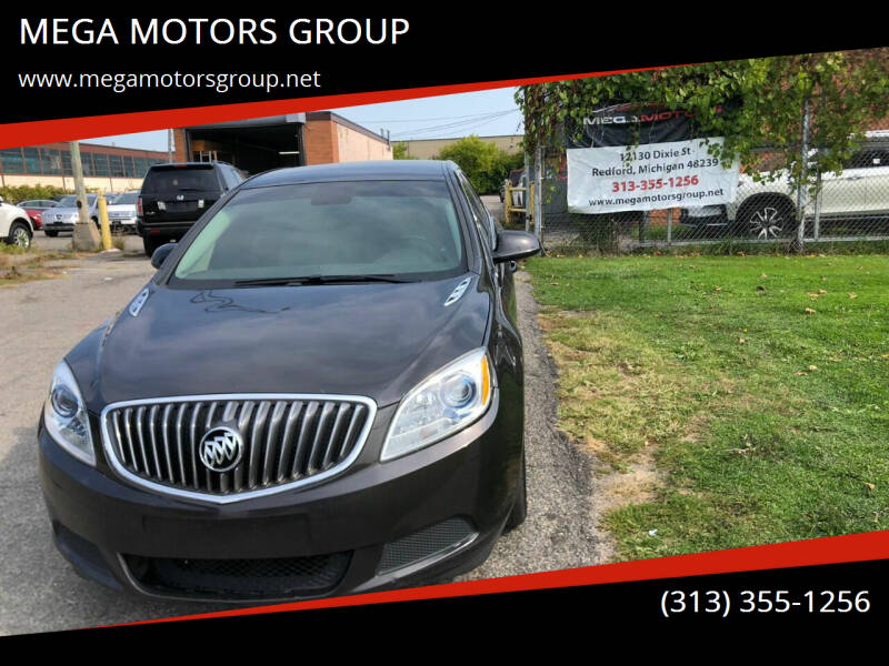 2015 Buick Verano for sale at MEGA MOTORS GROUP in Redford MI