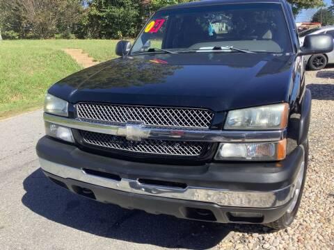 2004 Chevrolet Silverado 1500 for sale at Moose Motors in Morganton NC