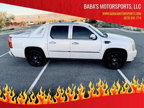 2008 Cadillac Escalade EXT for sale at Baba's Motorsports, LLC in Phoenix AZ