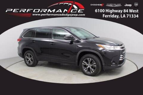 2018 Toyota Highlander for sale at Performance Dodge Chrysler Jeep in Ferriday LA